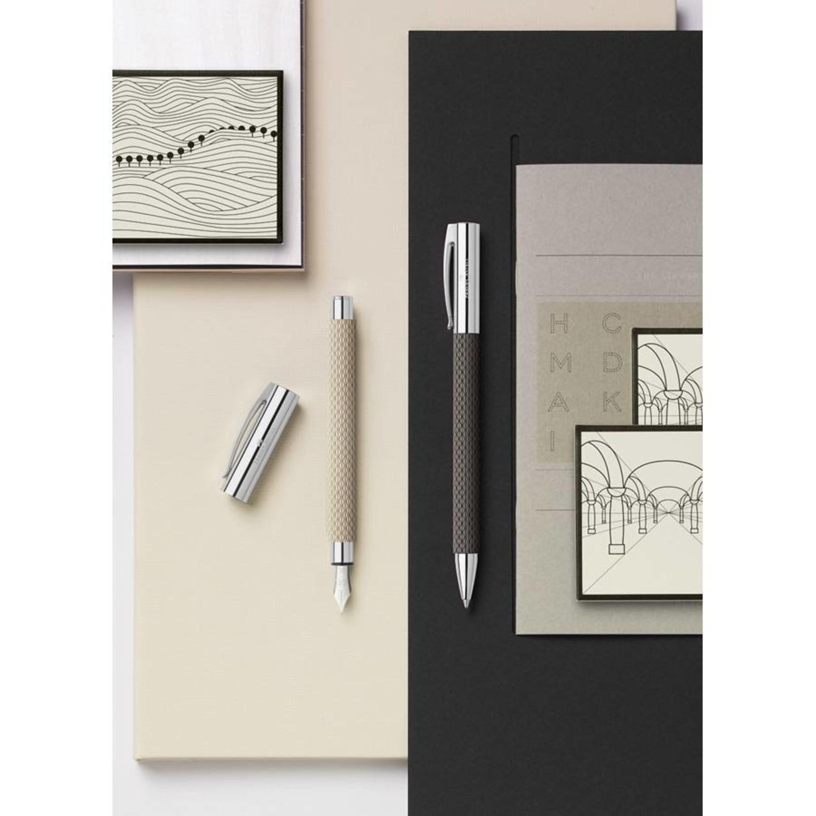 Faber-Castell AMBITION Kugelschreiber OpArt White Sand