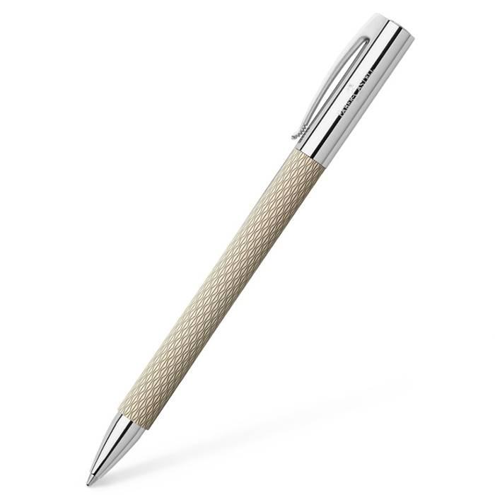 Faber Castell Ambition Kugelschreiber Opart White Sand Stöger