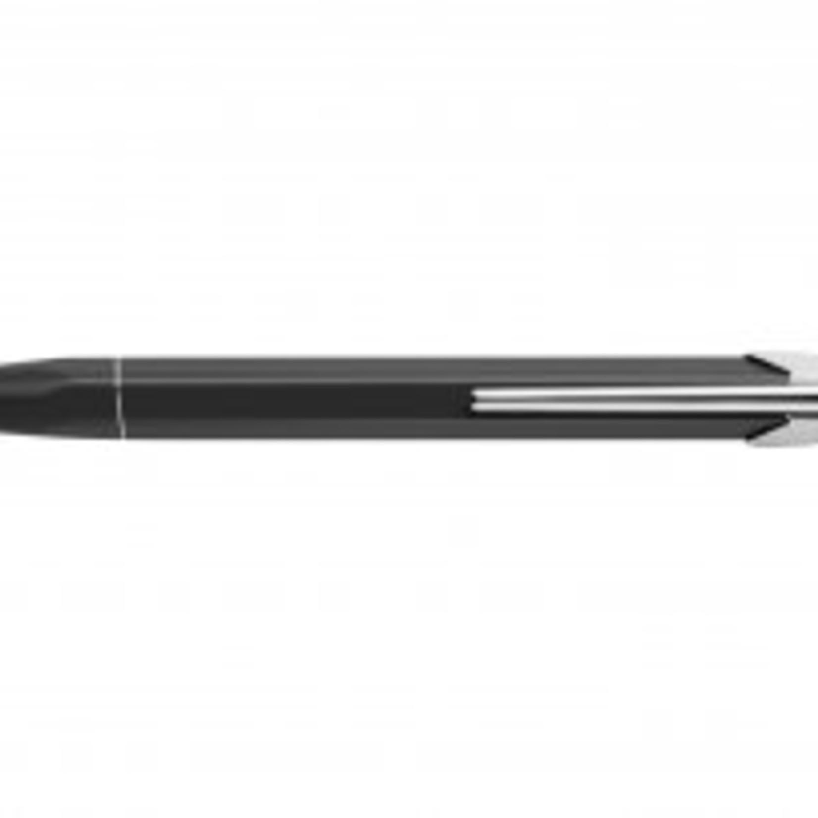 Caran d'Ache 849 Pop Line Kugelschreiber mit Etui, schwarz