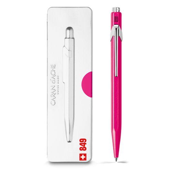 Caran d'Ache 849 Pop Line Kugelschreiber mit Etui, rosa