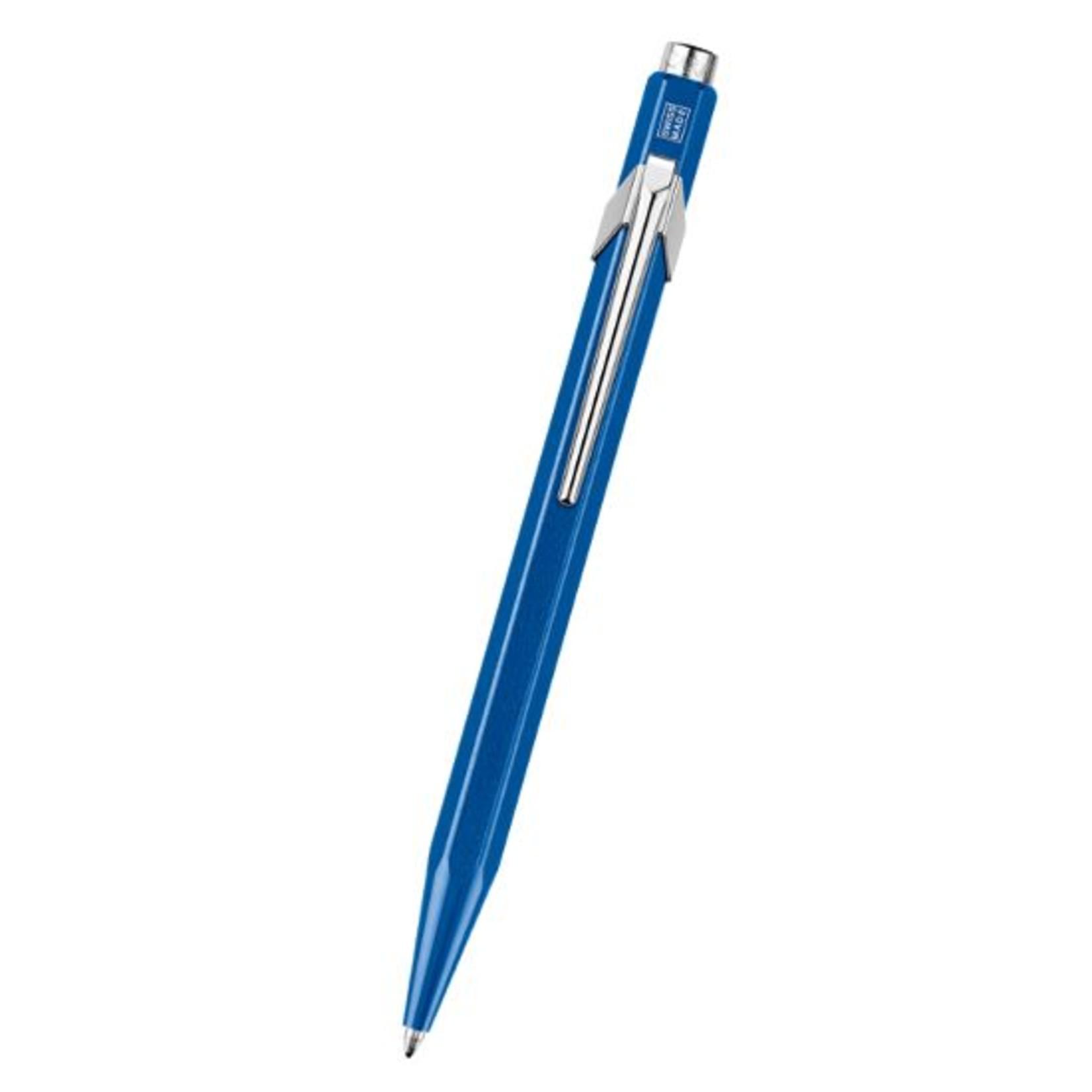 Caran d'Ache 849 Kugelschreiber lose metal-X blau