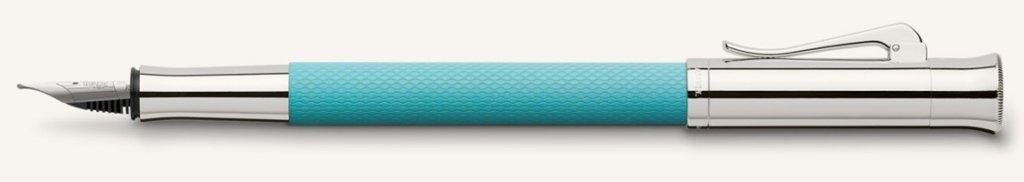 Faber-Castell Füllhalter Farbwelten Guilloche Turquoise F
