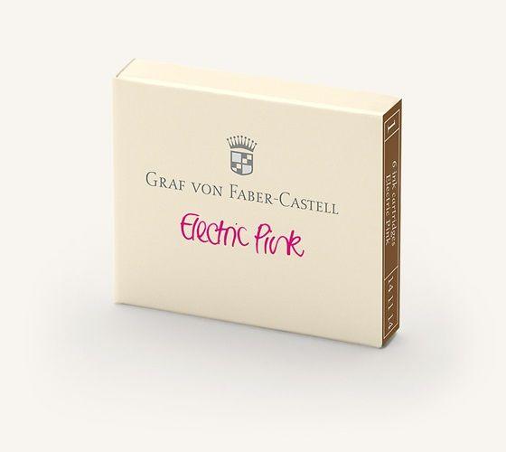 Faber-Castell Tintenpatronen Farbwelten Electric Pink 6Stk