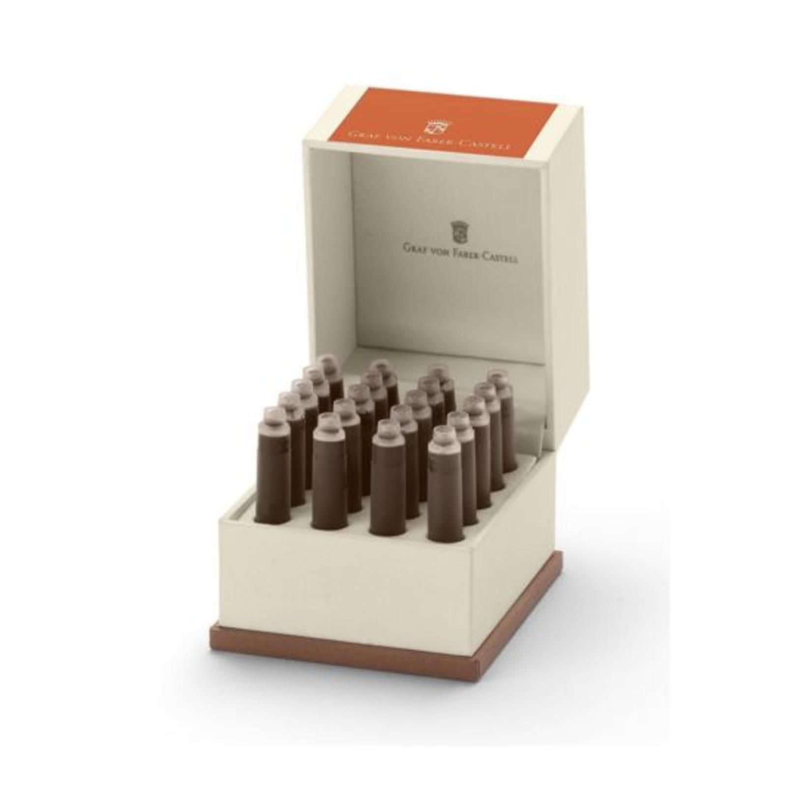 Faber-Castell GvFC Tintenpatronen Geschenkverpackung Farbwelten Burned Orange 20Stk