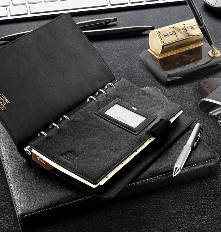 Filofax Personal HERITAGE Black