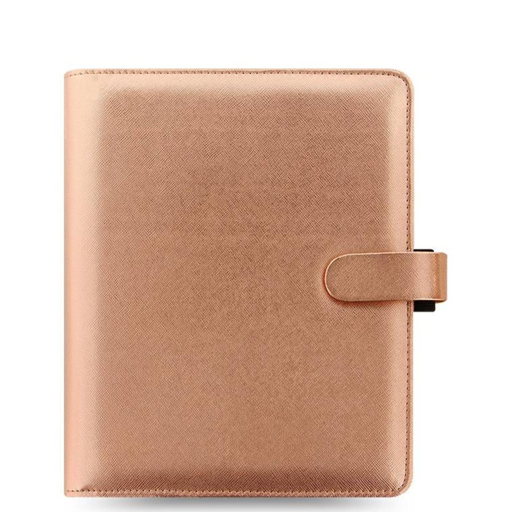 Filofax A5 SAFFIANO Special Edition Rose Gold