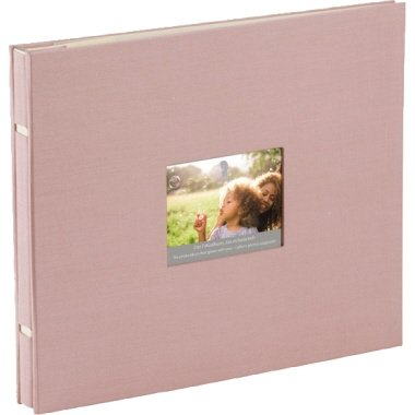 Rössler Fotoalbum Memories 28x24 Rose (Stoff)