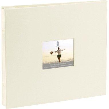 Rössler Fotoalbum Memories 28x24 ivory (Stoffbezug)