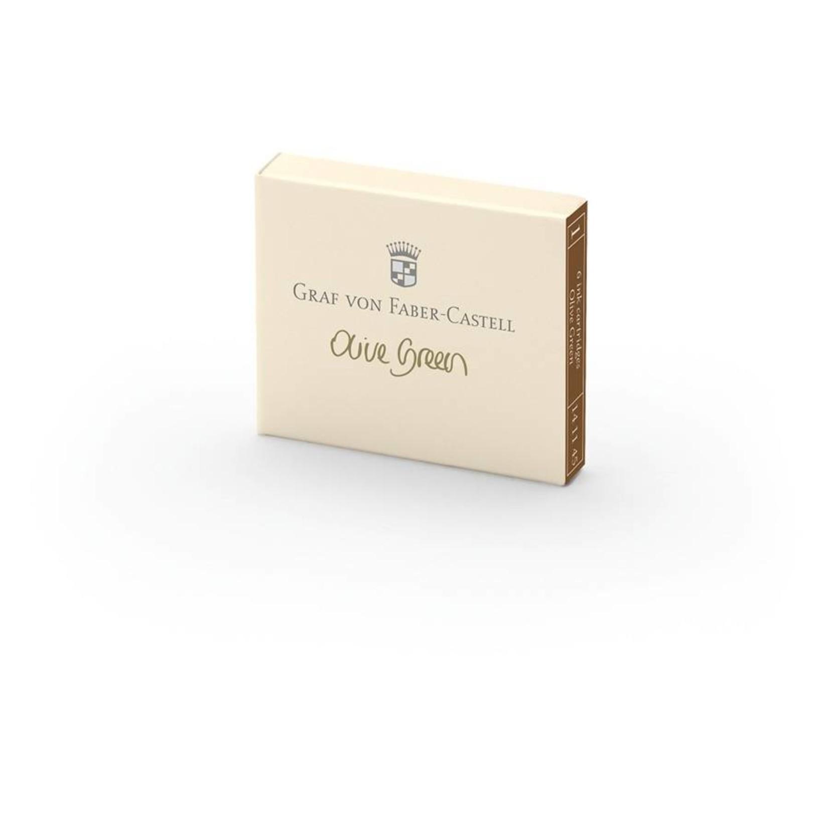 Faber-Castell GvFC Tintenpatronen 6Stk. Olive Green