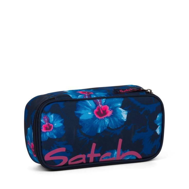 SATCH SATCH Schlamperbox Waikiki Blue blau weiße Blumen