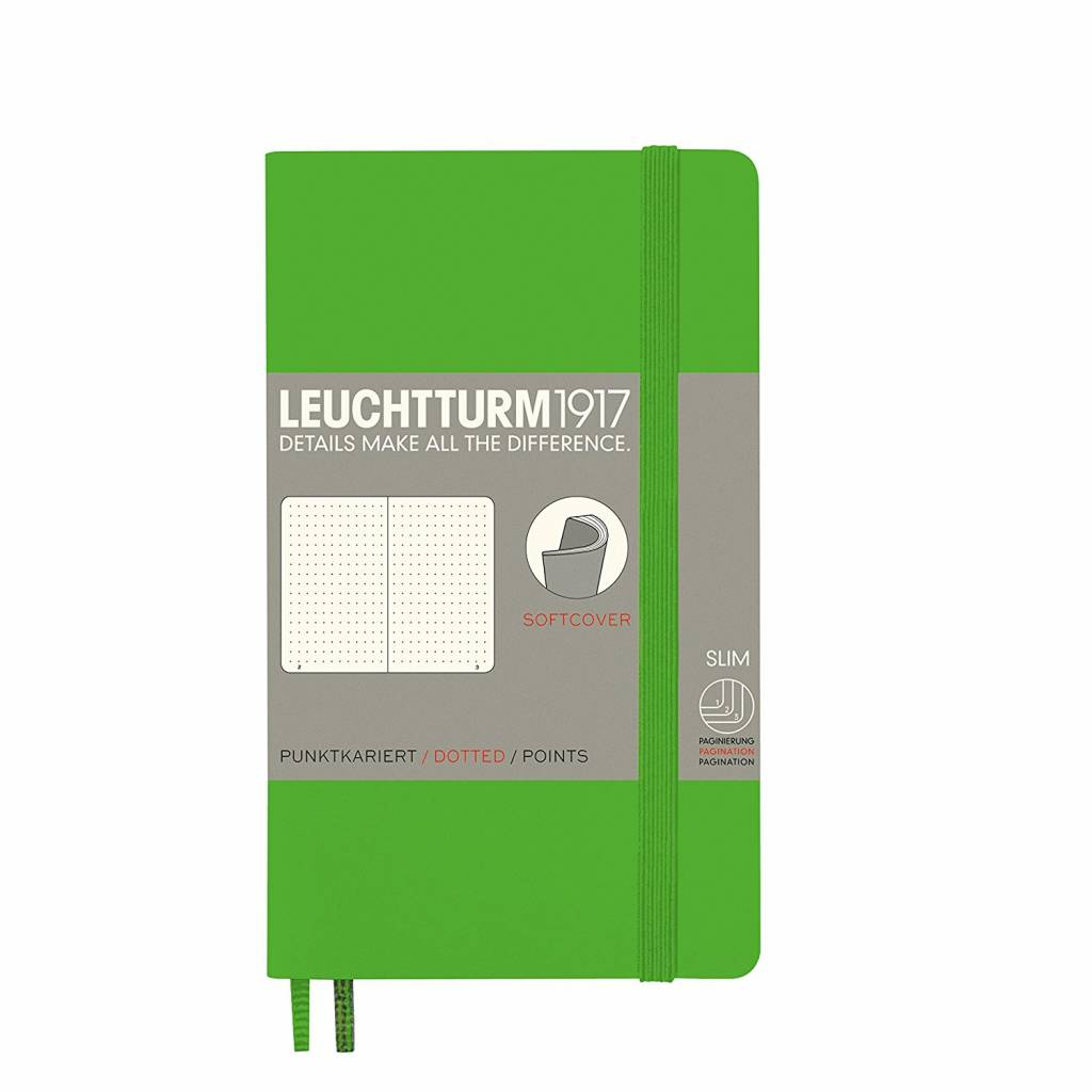 Leuchtturm1917 Notizbuch POCKET A6 SC Fresh Green dotted