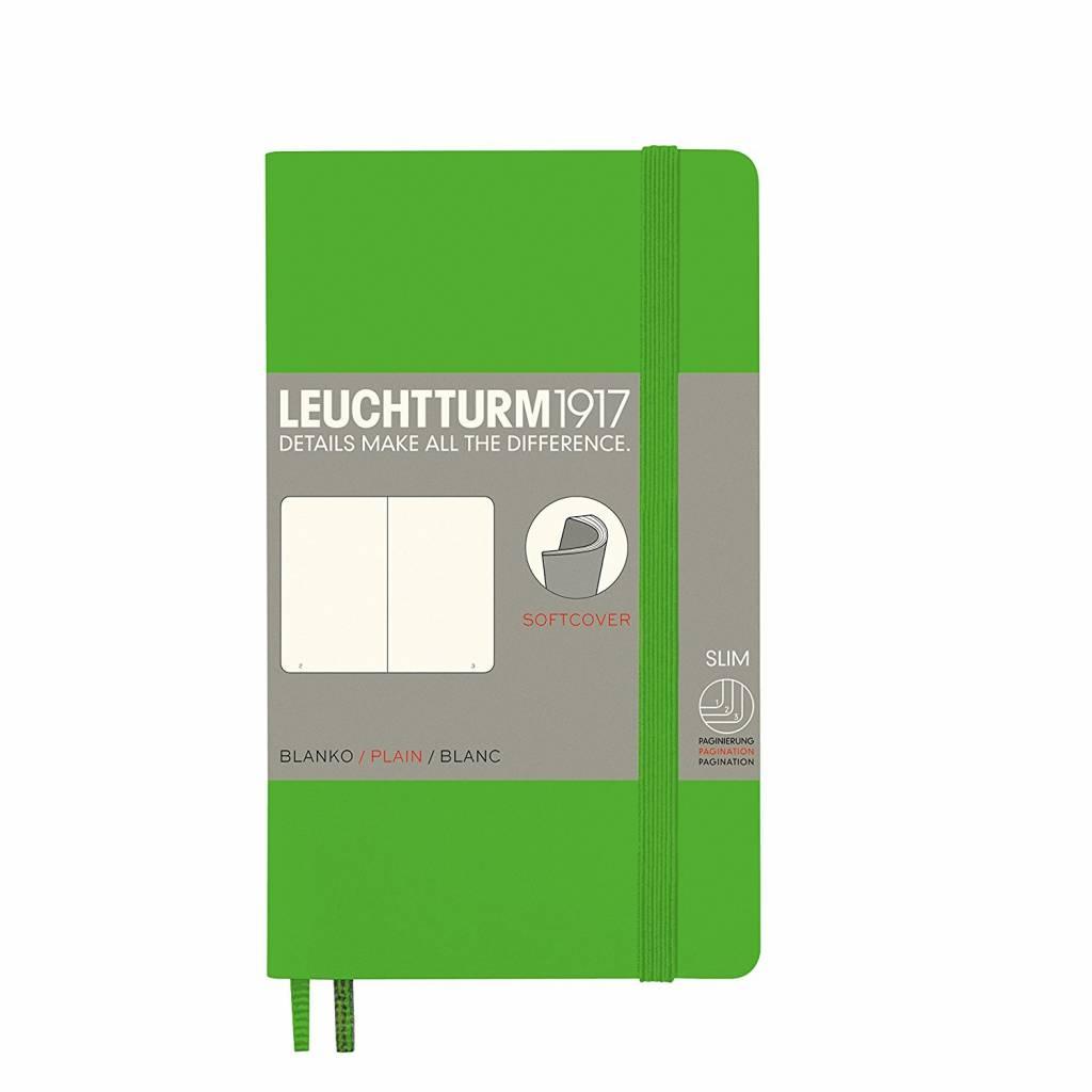 Leuchtturm1917 Notizbuch POCKET A6 SC Fresh Green blanko
