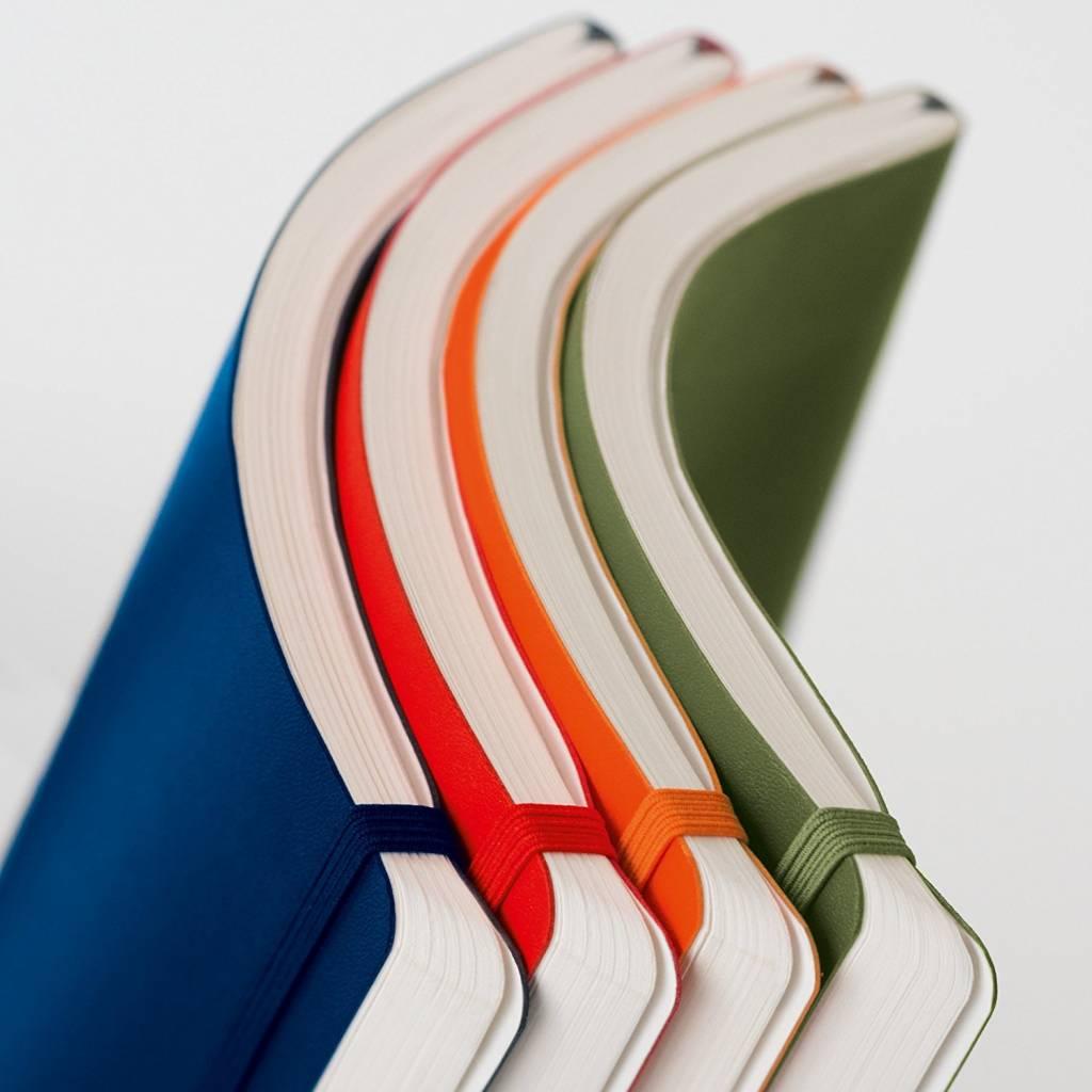 Leuchtturm Albenverlag LT Notizbuch COMPOSITION B5 SC Eisblau liniert