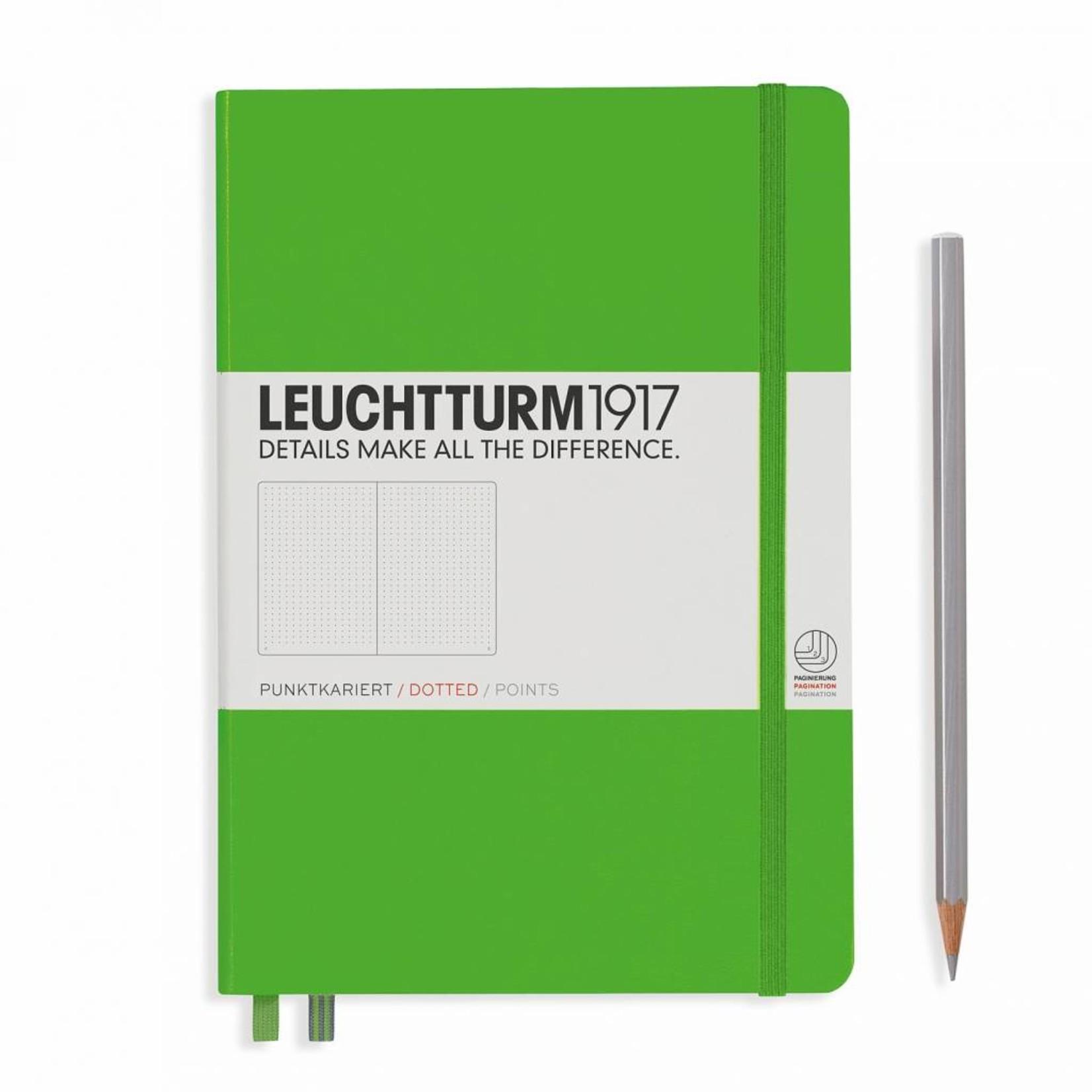 LT Notizbuch A5 MEDIUM HC Fresh Green dotted