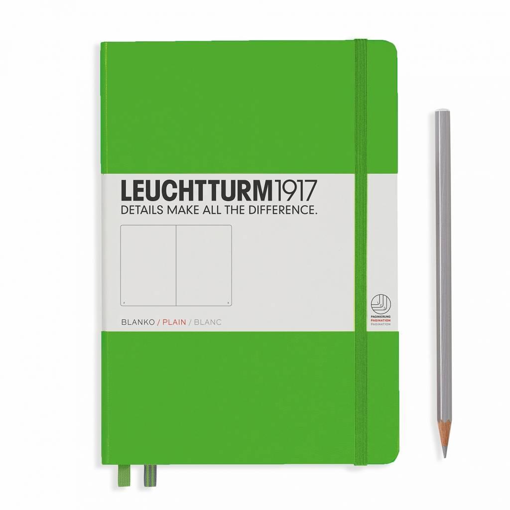 Leuchtturm Albenverlag LT Notizbuch A5 MEDIUM HC Fresh Green blanko