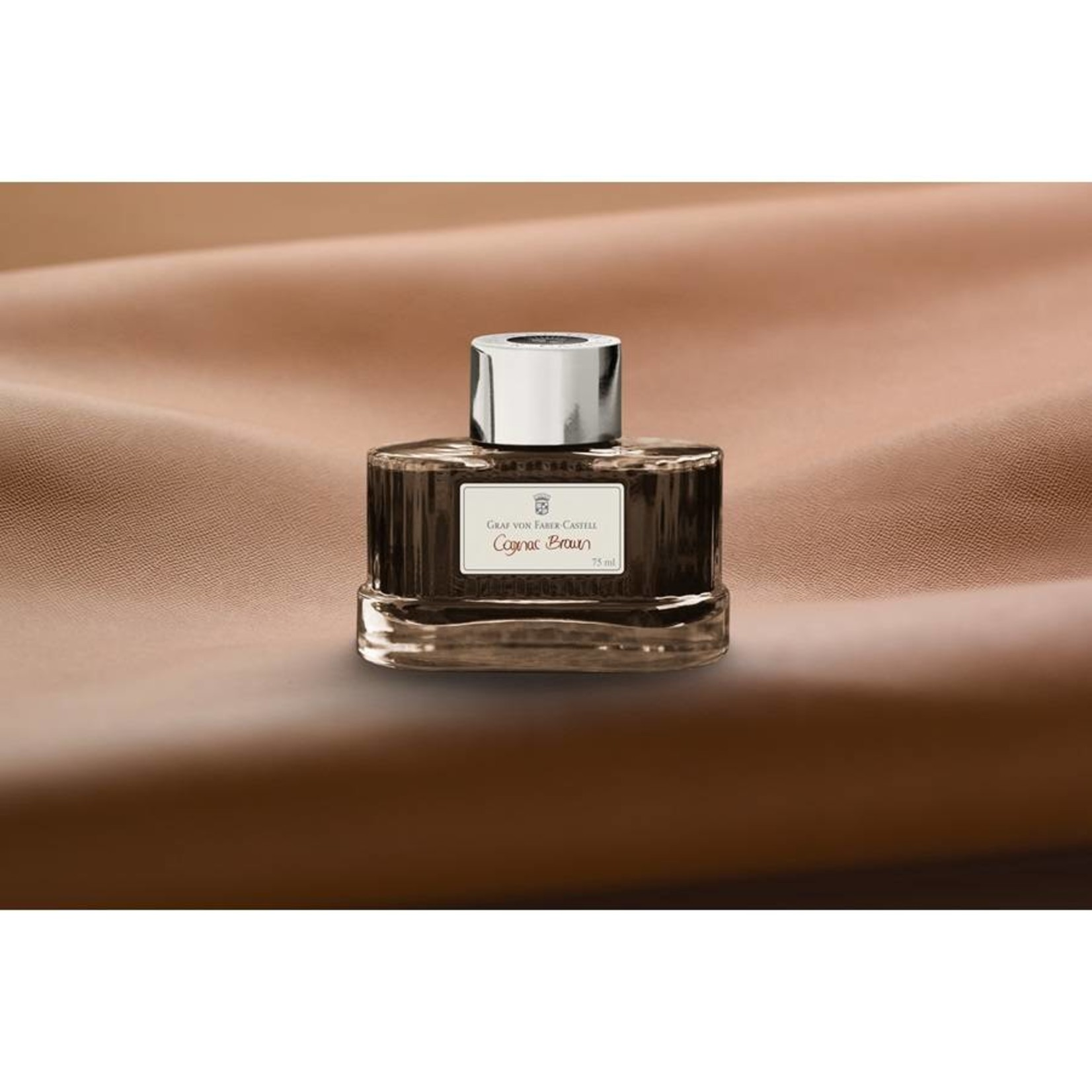 Faber-Castell GvFC Tintenglas 75ml Cognac brown