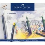 Faber-Castell Goldfaber Farbstifte 24Stk im Metalletui