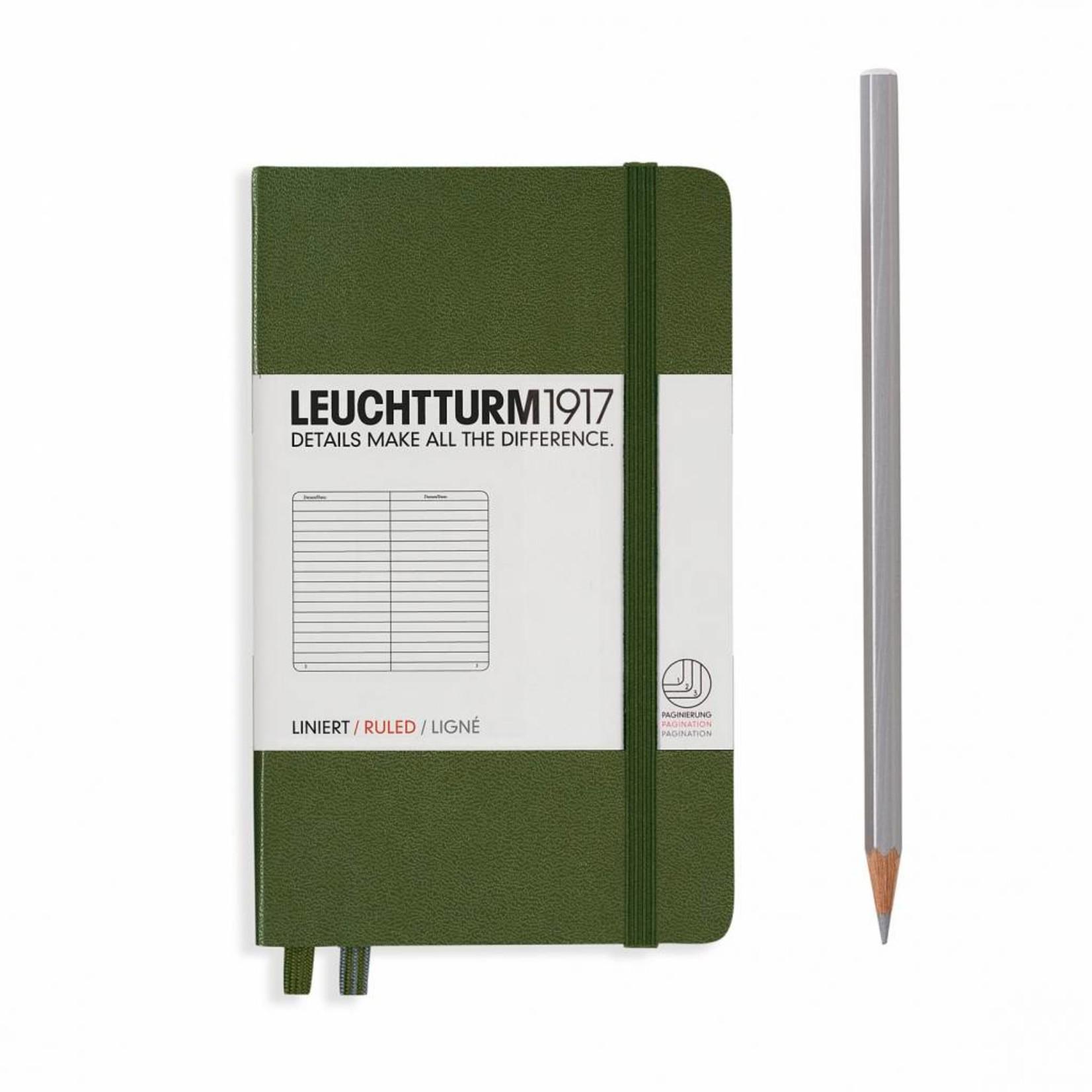 LT Notizbuch A6 POCKET HC army, liniert