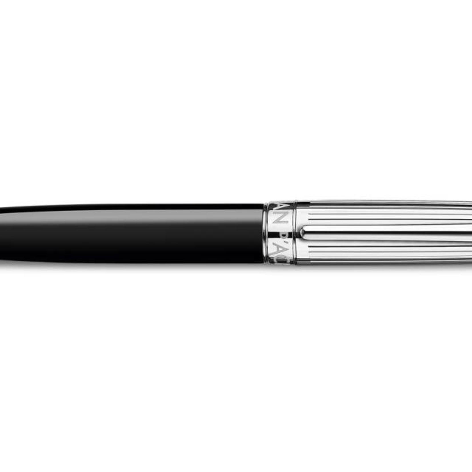 Caran d'Ache Léman Kugelschreiber, Bicolor schwarz