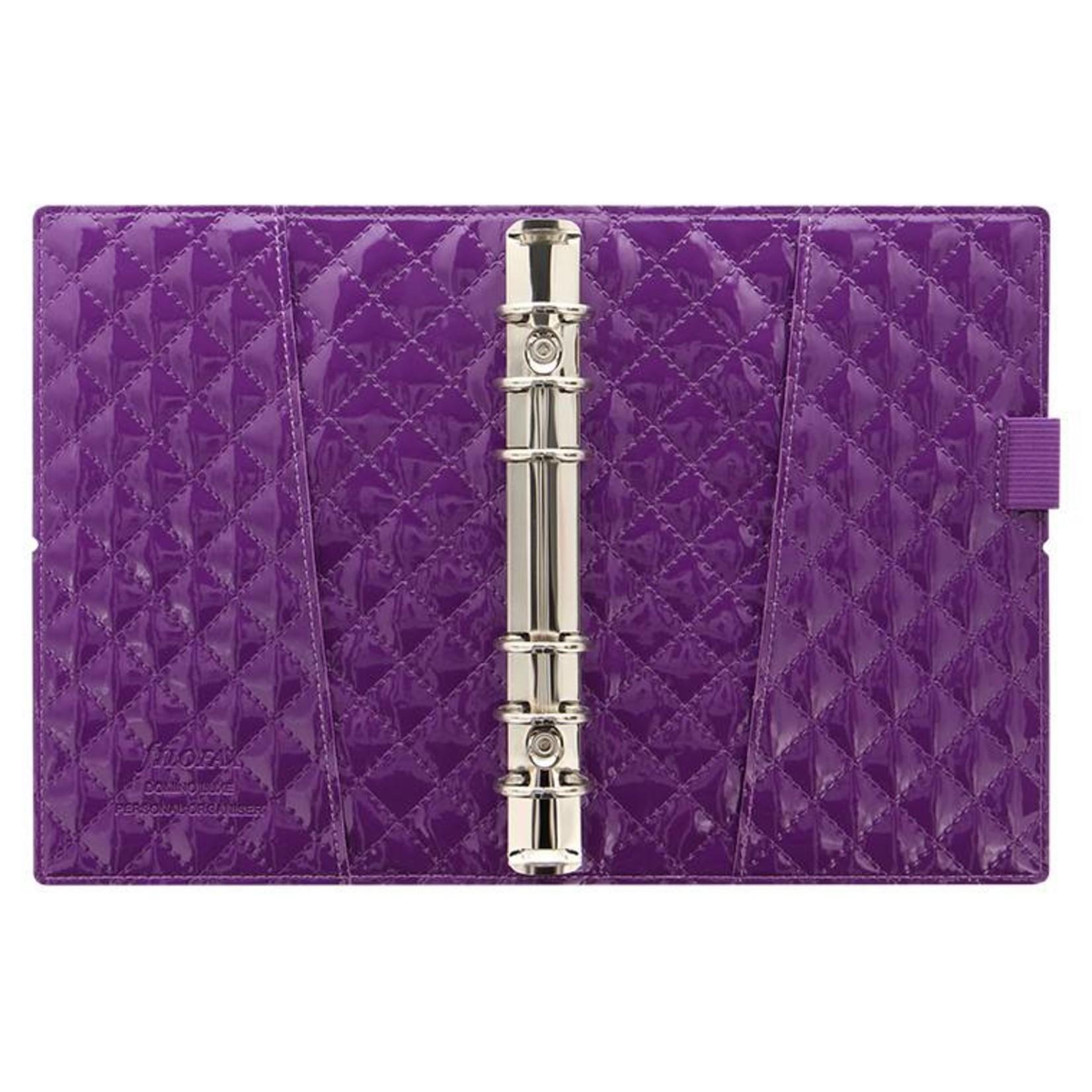 Filofax Deutschland Filofax DOMINO Personal LUXE Purple