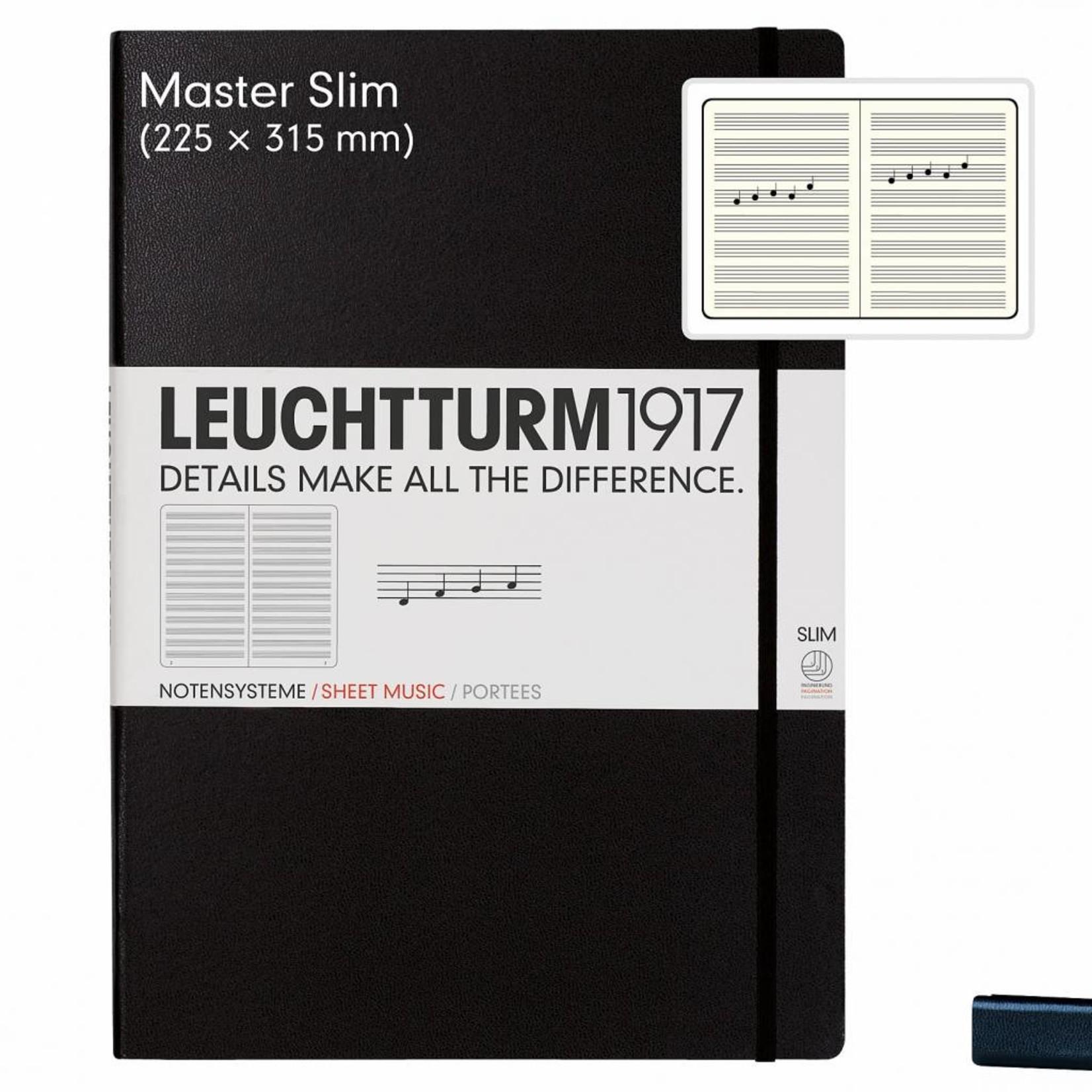 Leuchtturm1917 LT MASTER Slim Notensystem A4