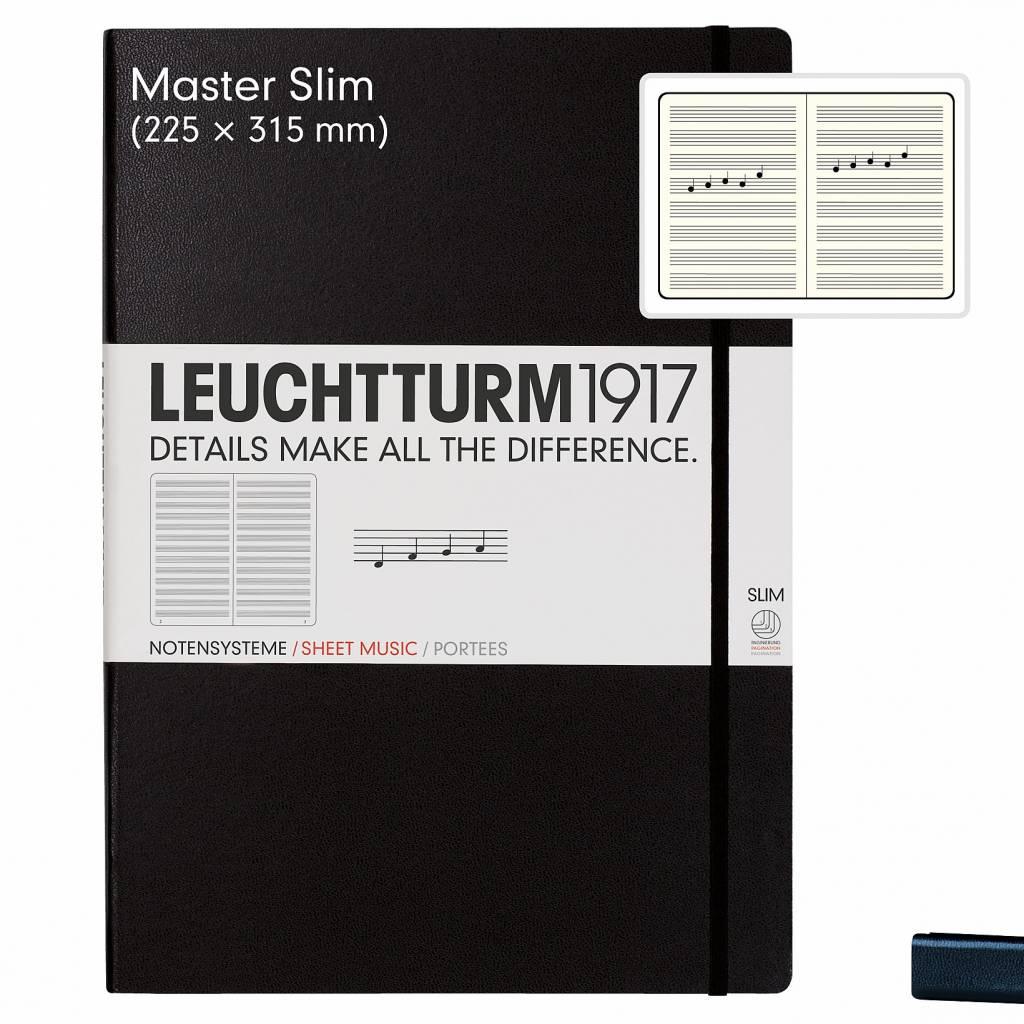 Leuchtturm Albenverlag LT MASTER Slim Notensystem A4
