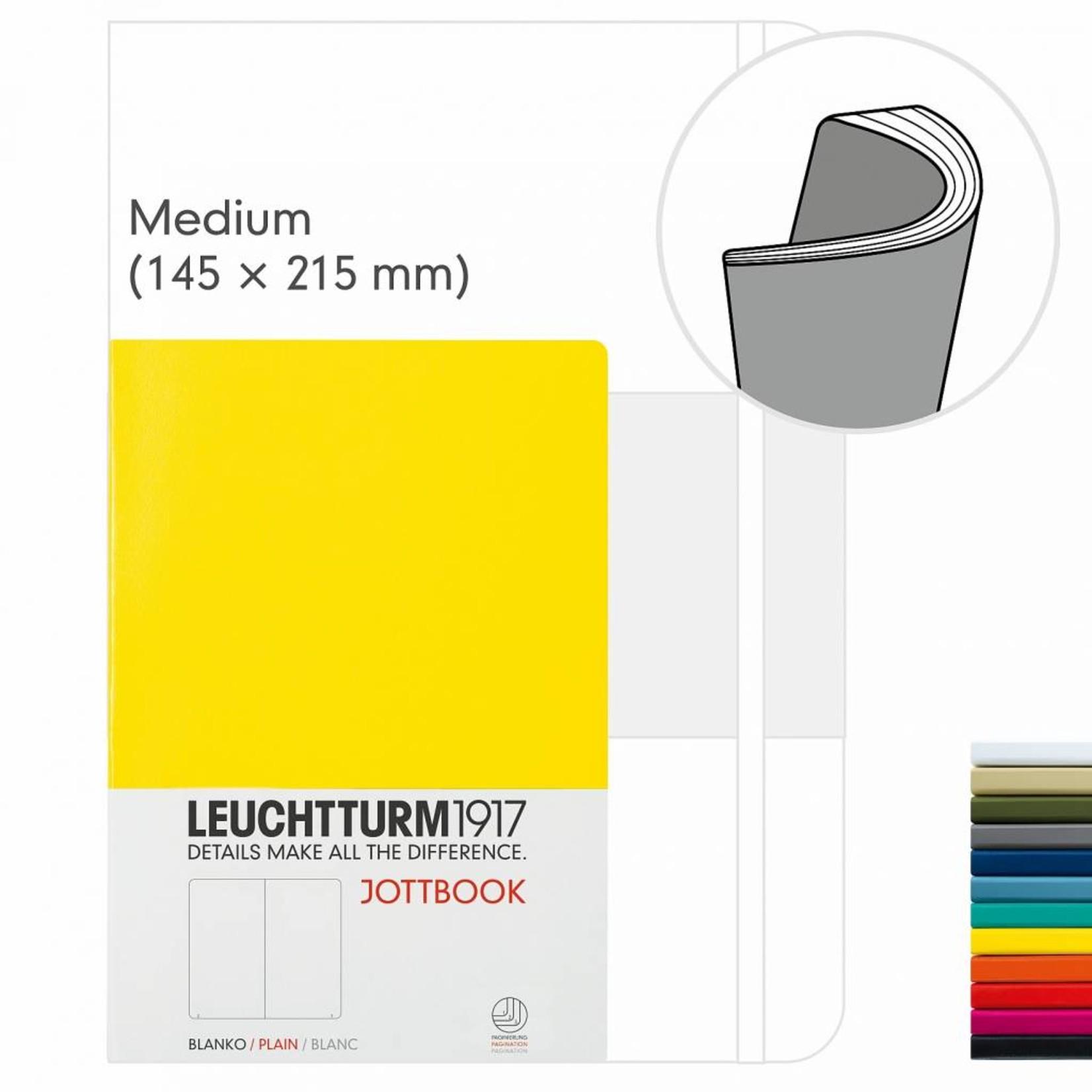 Leuchtturm1917 LT Jottbook MEDIUM A5 new pink, liniert