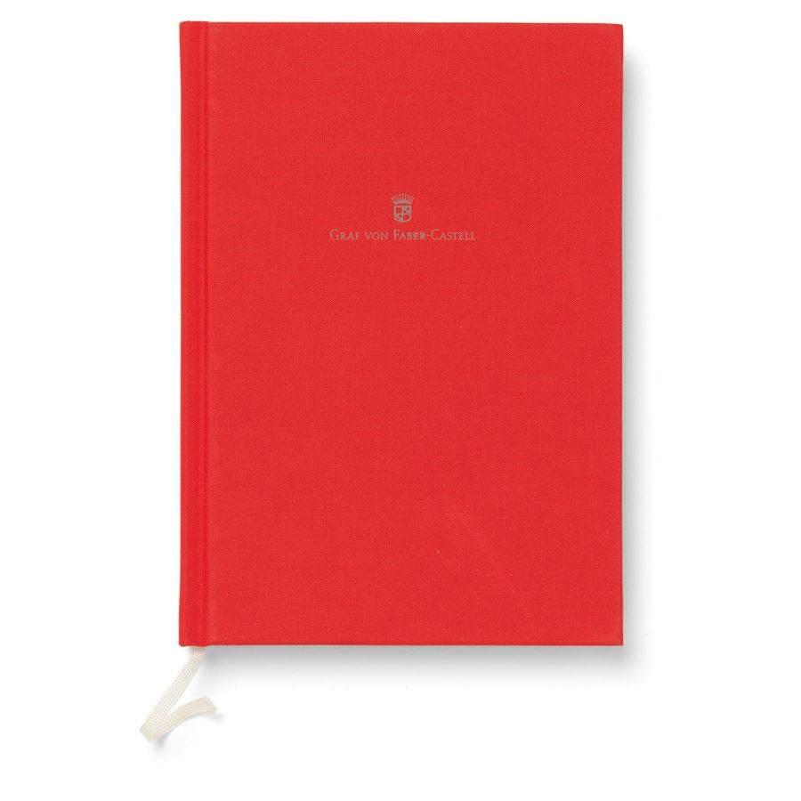 Graf von Faber-Castell GvFC Leinenbuch A5 India Red Farbwelten