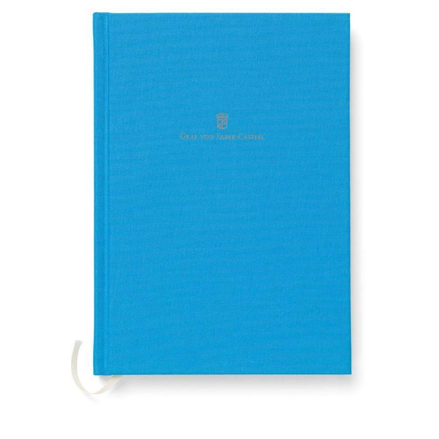 Graf von Faber-Castell GvFC Leinenbuch A5 Gulf Blue Farbwelten