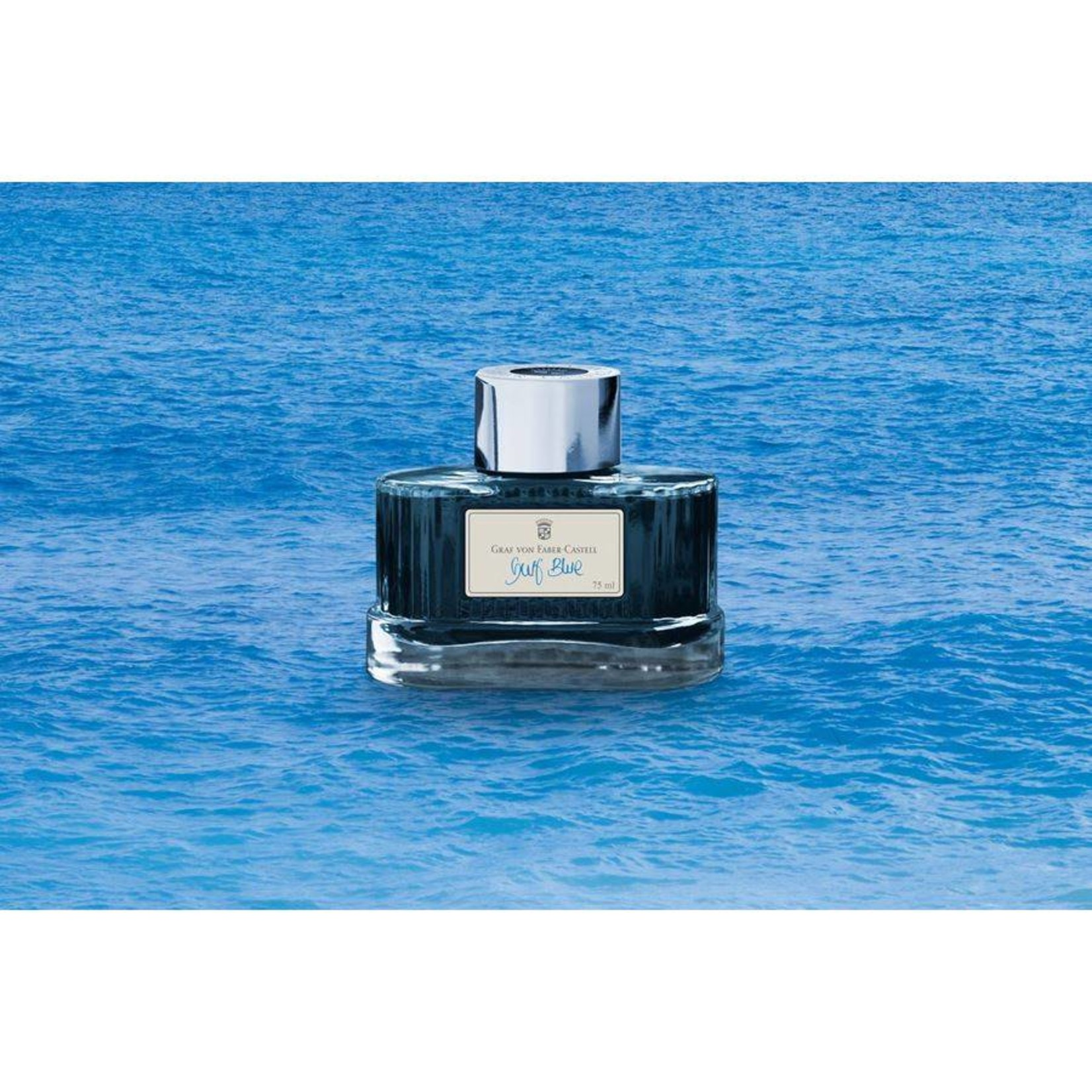 Graf von Faber-Castell GvFC Tintenglas Farbwelten Gulf Blue 75ml