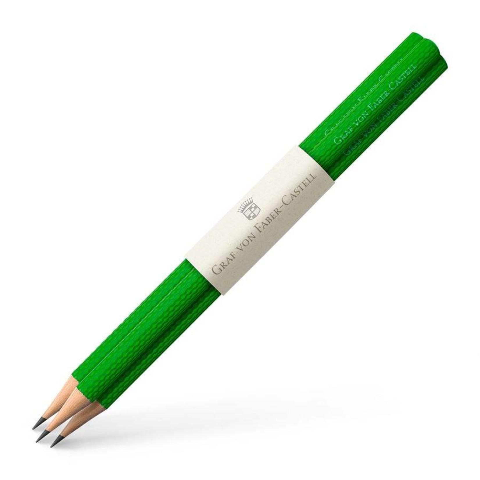 Graf von Faber-Castell GvFC Bleistifte Farbwelten Viper Green 3Stk