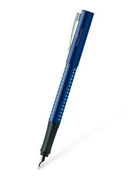 Faber-Castell Füller GRIP 2010 blau-hellblau M