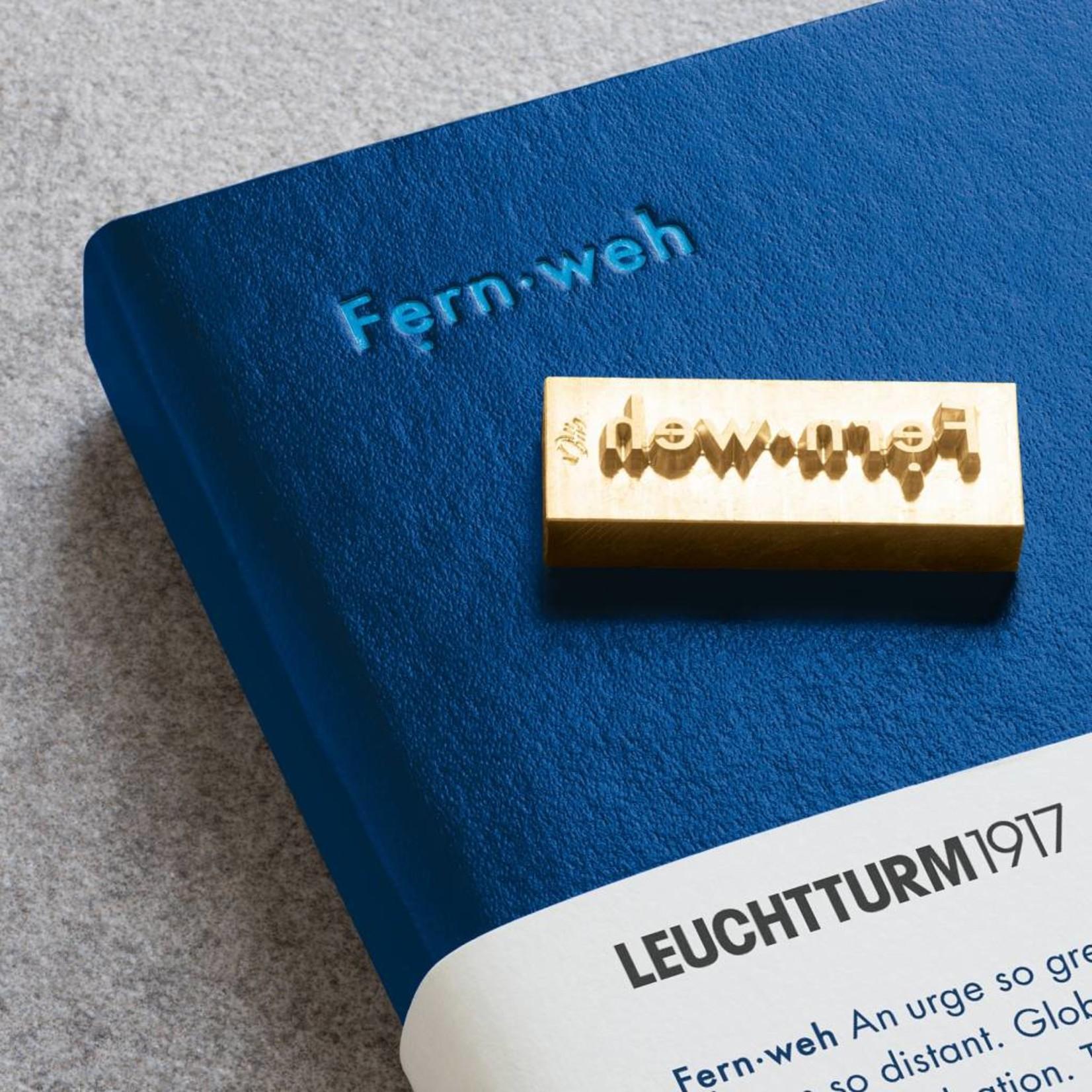 Leuchtturm1917 LT NB MEDIUM Leuchtkraft Königsblau-Zeitgeist dotted