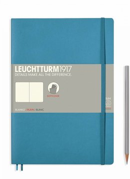 Leuchtturm1917 Notizbuch COMPOSITION B5 SC Nordic Blue blanko