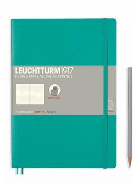Leuchtturm Albenverlag LT Notizbuch COMPOSITION B5 SC smaragd dotted