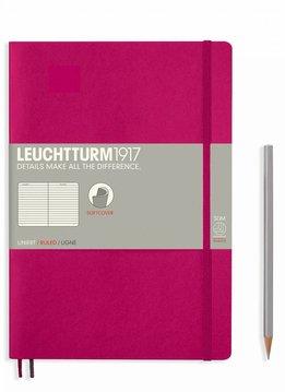 Leuchtturm Albenverlag LT Notizbuch COMPOSITION B5 SC beere liniert