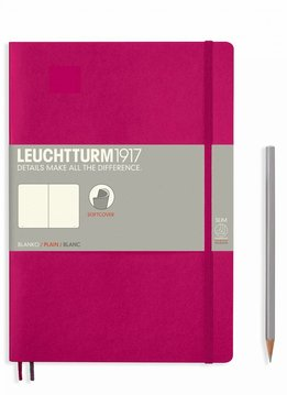 Leuchtturm Albenverlag LT Notizbuch COMPOSITION B5 SC beere blanko