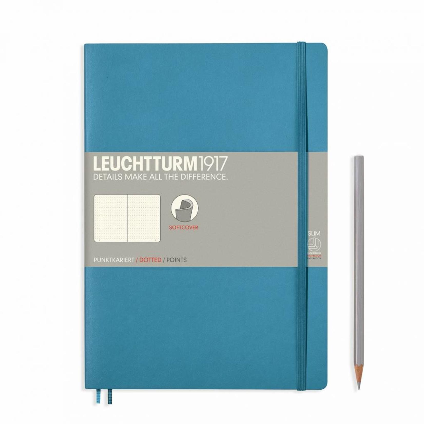 Leuchtturm1917 LT Notizbuch COMPOSITION B5 SC Nordic Blue dotted
