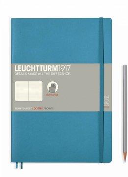 Leuchtturm Albenverlag LT Notizbuch COMPOSITION B5 SC Nordic Blue dotted