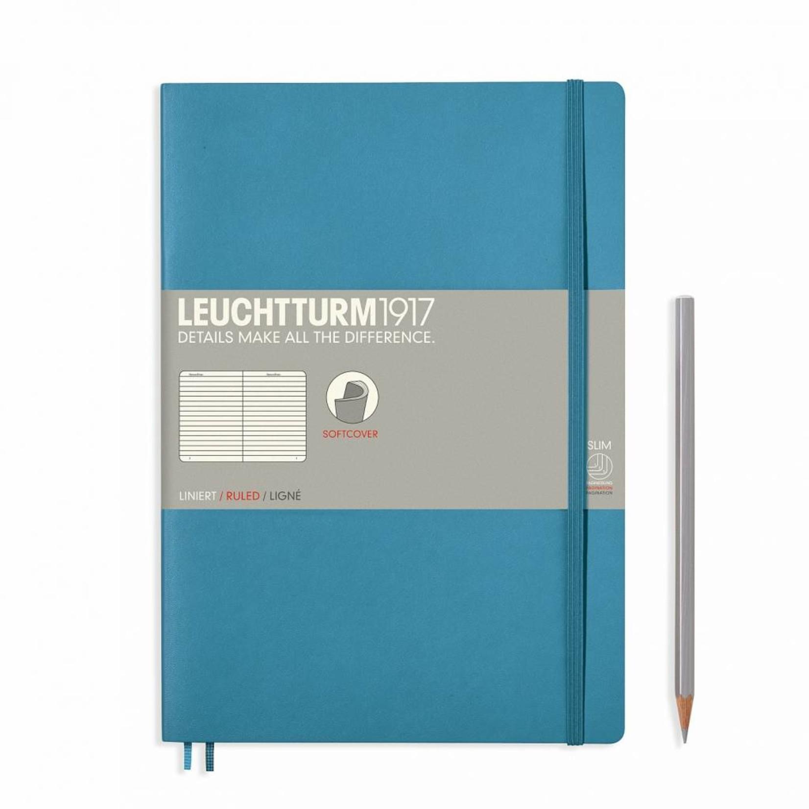 Leuchtturm1917 LT Notizbuch COMPOSITION B5 SC Nordic Blue liniert
