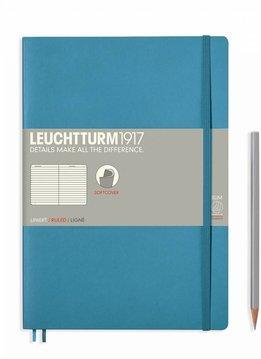 Leuchtturm Albenverlag LT Notizbuch COMPOSITION B5 SC Nordic Blue liniert