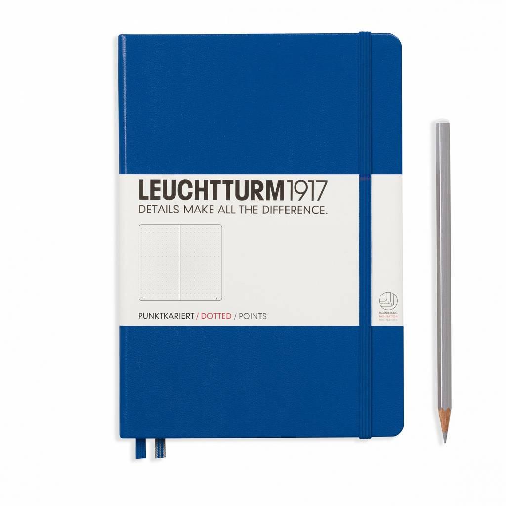 Leuchtturm1917 Leuchtturm1917 Notizbuch, Medium, Königsblau, Dotted