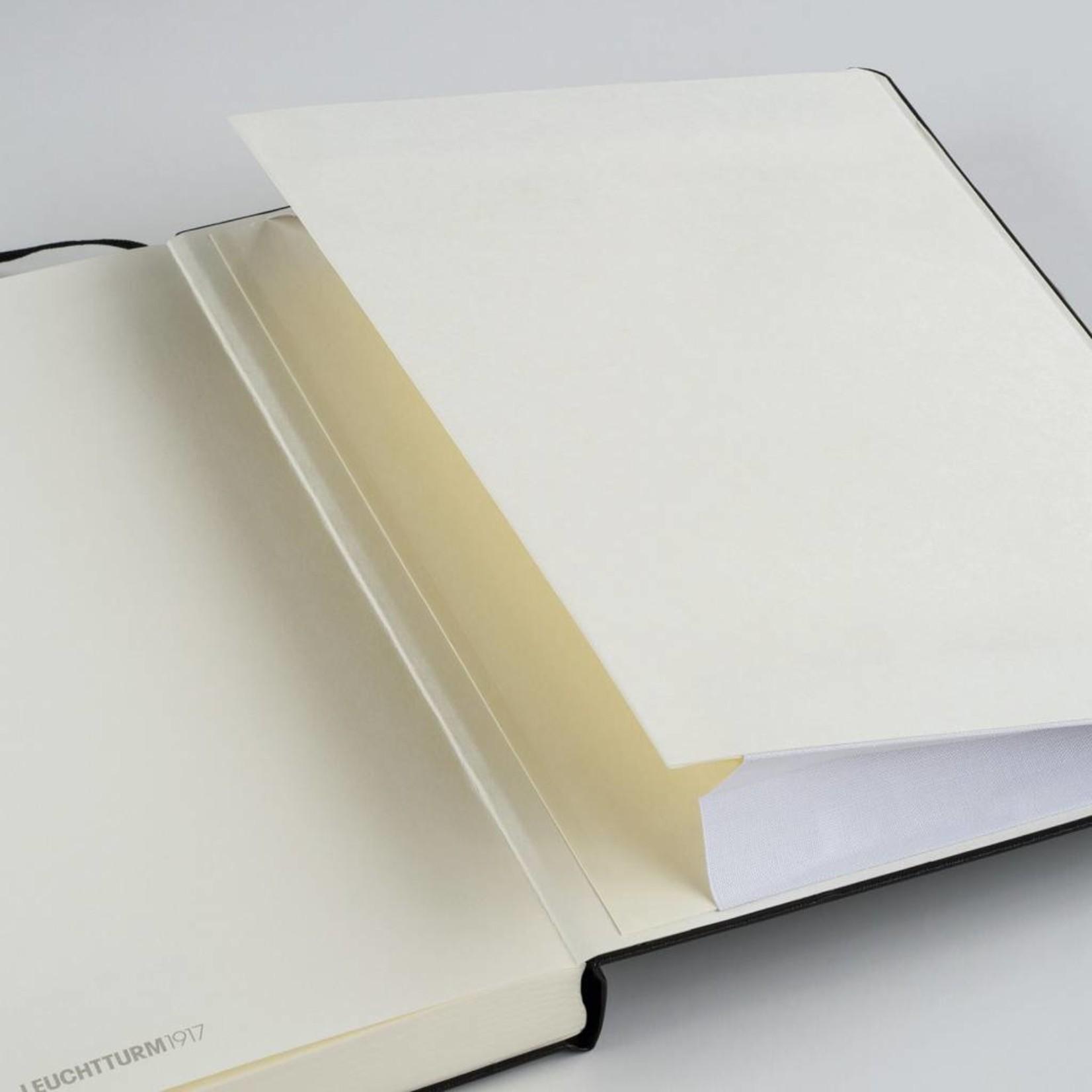 Leuchtturm1917 Leuchtturm1917 Notizbuch Softcover, Medium, Schwarz, Kariert