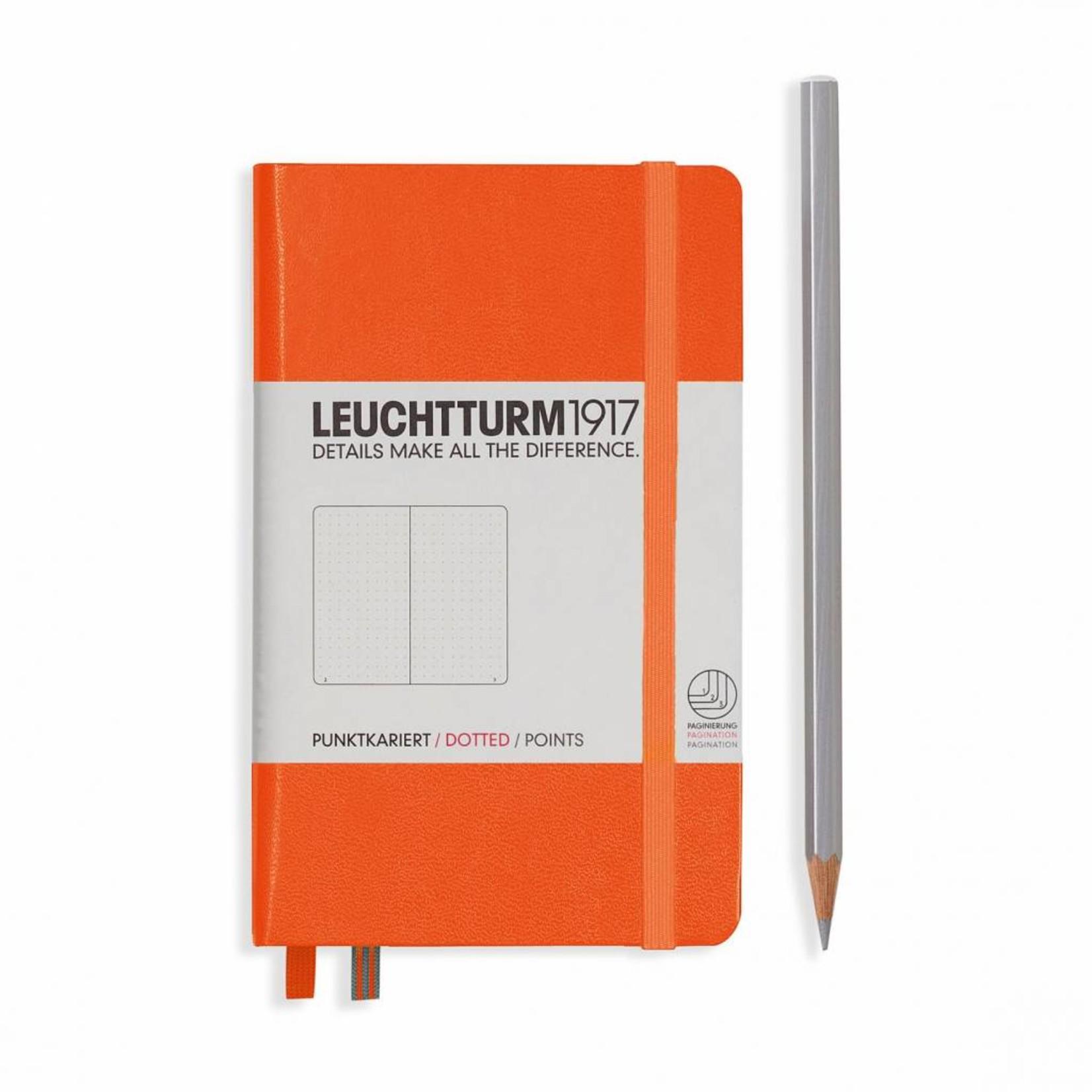 Leuchtturm1917 Leuchtturm1917 Notizbuch, Pocket, Orange, Dotted