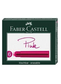 Faber-Castell FC Tintenpatronen Standard pink 6er