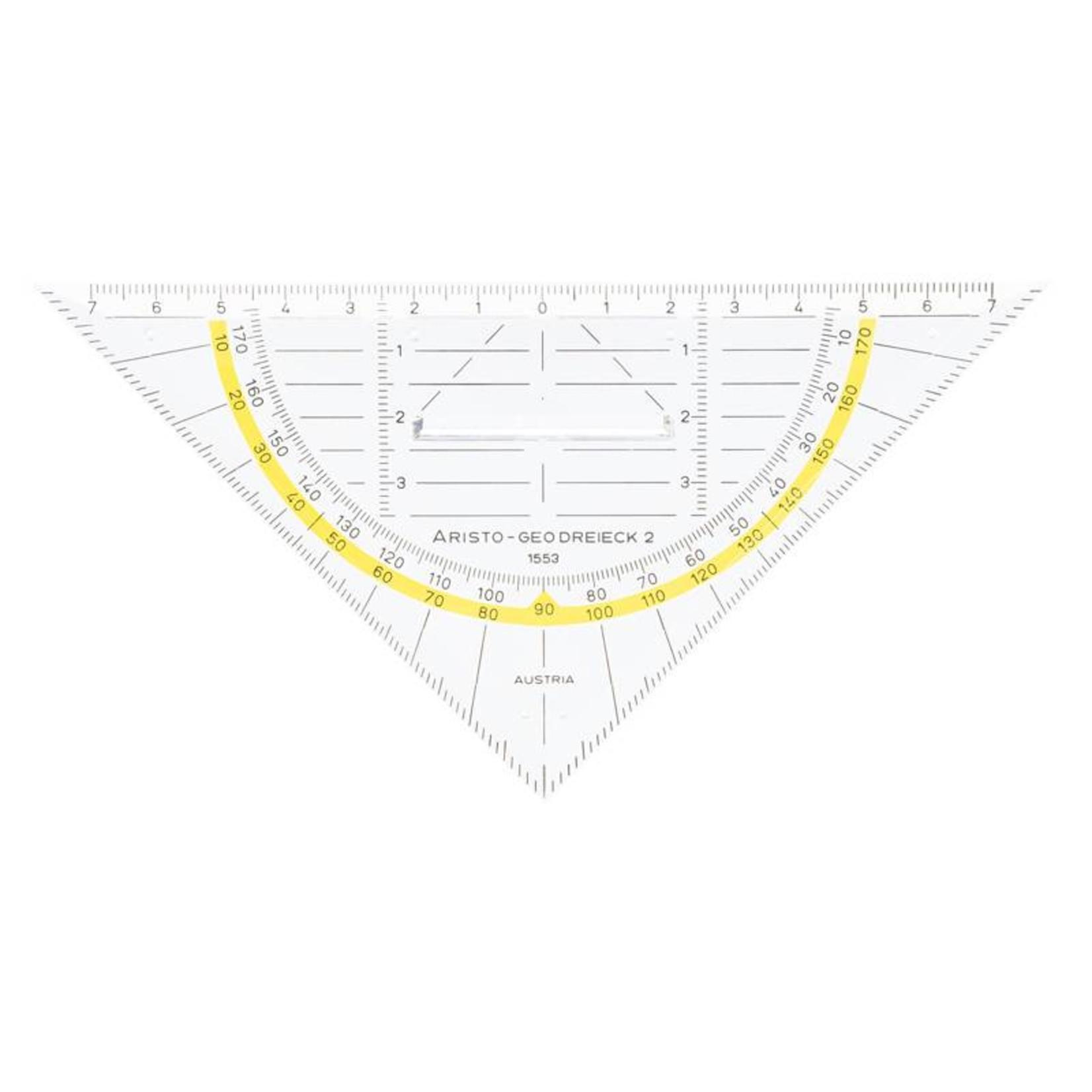 ARISTO Aristo Geo-Dreieck m.Griff 1553 16cm