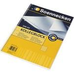 Soennecken eG SOE Kollegblock A4 kariert 80 Blatt m.Spirale