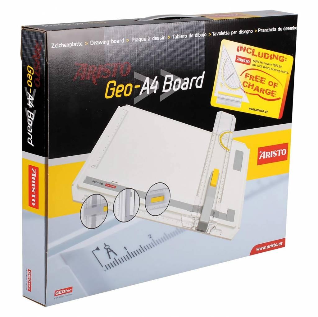 ARISTO Aristo GEOBOARD A4 Karton mit Schnellzeichendreieck