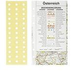Filofax Filofax Einlage Personal, Straßenkarte Österreich