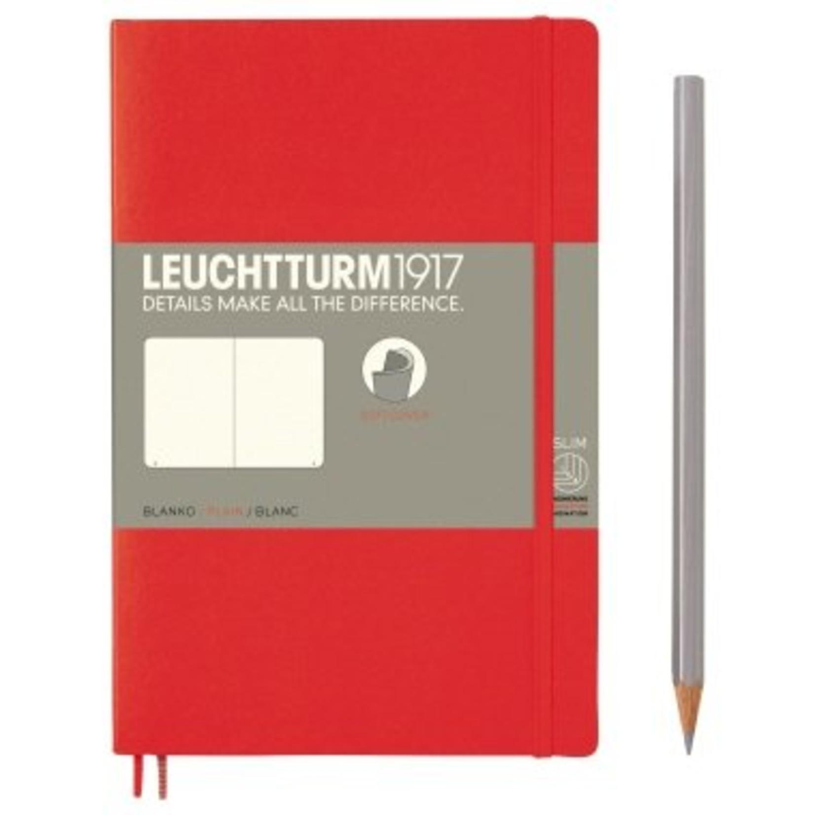 Leuchtturm LT NB B6 SC Paperback Rot Blanko